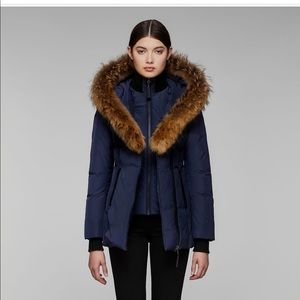 bd7cf710518a Authentic Mackage coat in style ADALI navy blue